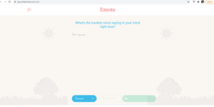 Emote Online Journal