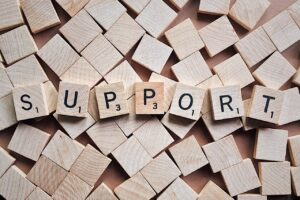 Support to overcome anxiety